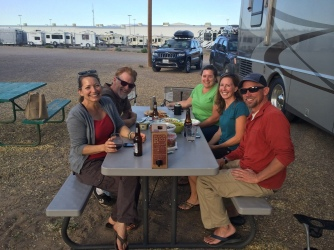 @ Enchanted Trails RV Park, ABQ