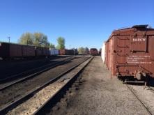 Chama rail yard