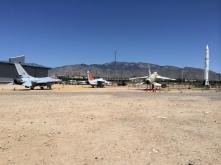 (L-R) F-16, A-7, & F-105