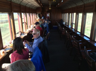 Parlor car interior