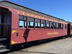 One of 3 coach cars