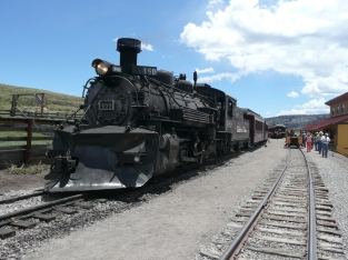 'My' train in Osier