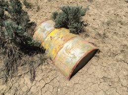 Runway marker barrel