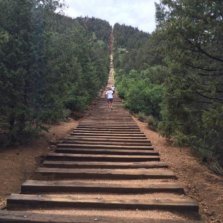 Crap! Starting to get steep