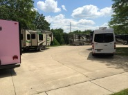 Some new Winnebagos on display