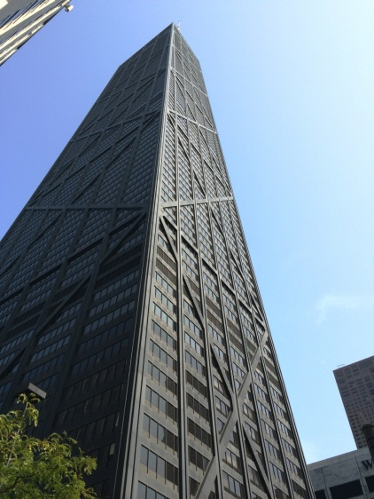 Our destination - John Hancock Center