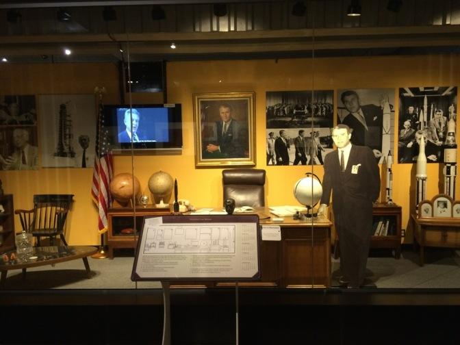 Dr. Wernher von Braun's desk