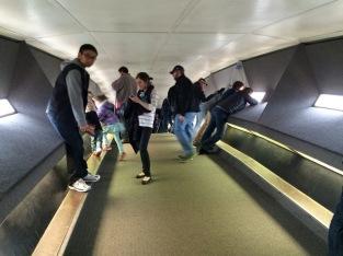 Tram observation deck