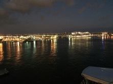Arriving at Port Everglades