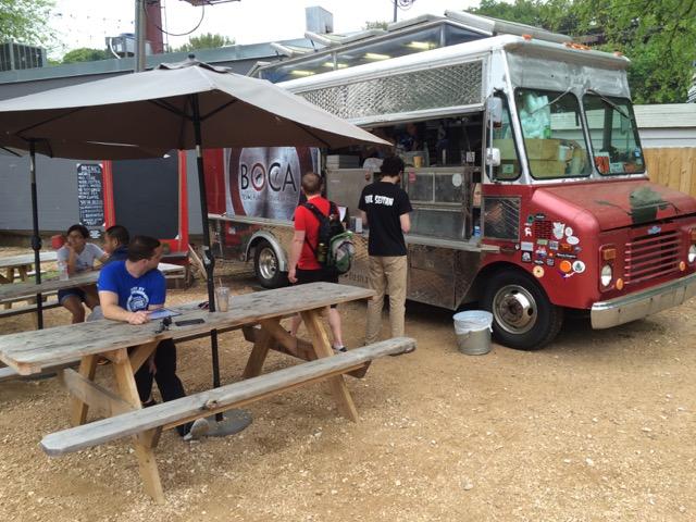 south austin social taco truck - excellent!
