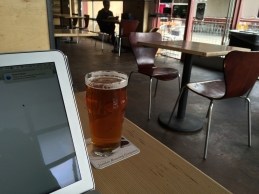 Working at Tractor Brewing