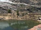 Dam in disrepair