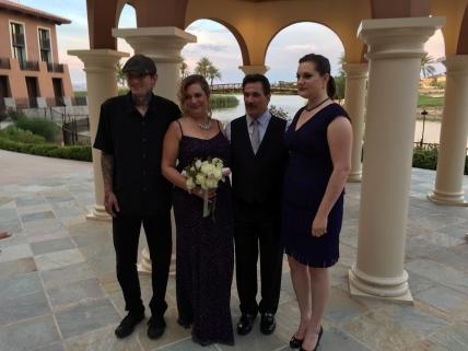 Matthew (nephew), Stacia, Dean, Erika (niece)