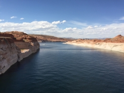 Lake Powell, from the dam