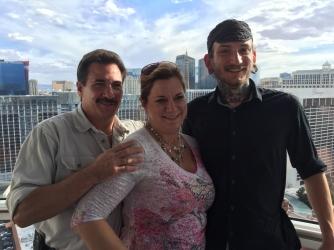 Dean, Stacia, and Matthew (my nephew)