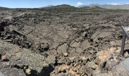 Collapsed lava tube