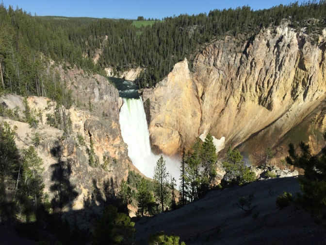 Lower Falls from a little ways off