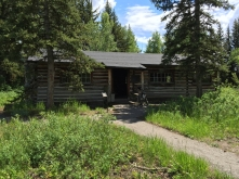 Maude Noble's cabin