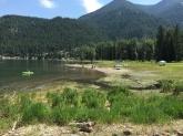 """""""Beach"""" at the lake"""