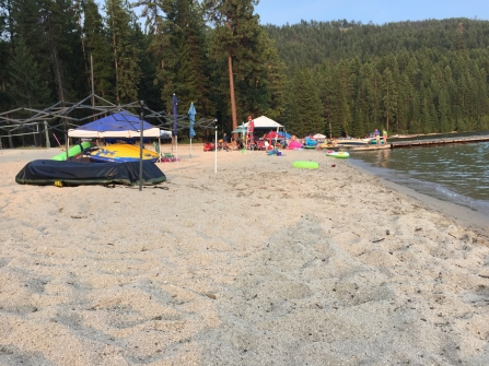 Beach @ Priest Lake