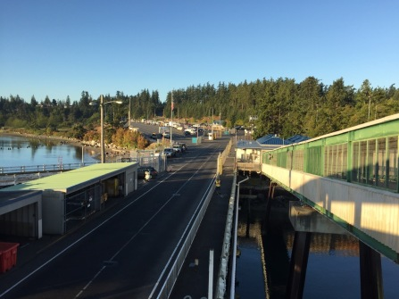 Waiting for the ferry in Anacortes