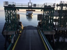Ferry arriving in Anacortes
