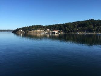 Arriving Orcas Island