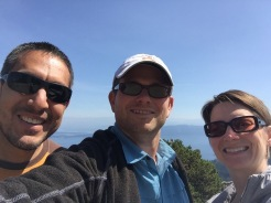 Mount Constitution selfie