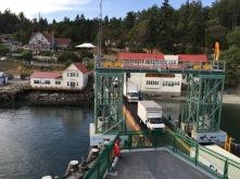 Loading at Orcas Island