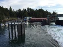 Departing Shaw Island