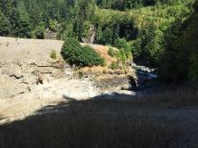 Survey crew to the left, examing canyon edge