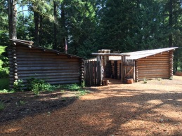 Replica of Fort Clatsop