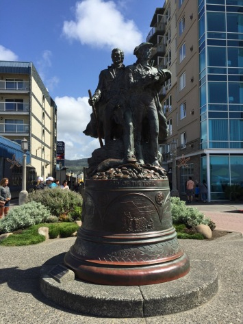 Lewis and Clark statue