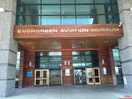 Aviation museum entrance