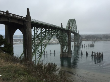 View from Yaquina Bay State Recreation Site
