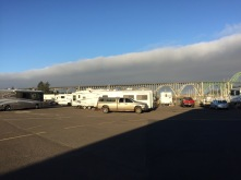 Typical fog bank