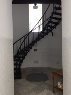 Base of stairs