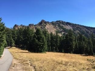 Garfield Peak - waaaaaay up there