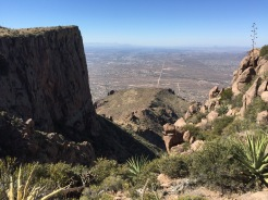Made it to the top! Flatiron to the left.