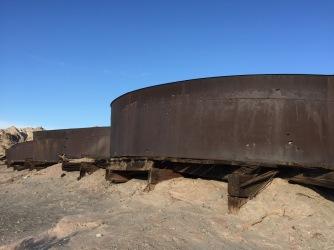 Cyanide tanks
