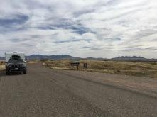 Entrance to Empire Ranch Rd off AZ-83