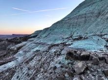 Very interesting copper ridge behind spot #2
