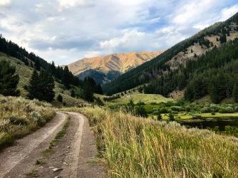 Back at Lake Creek Road