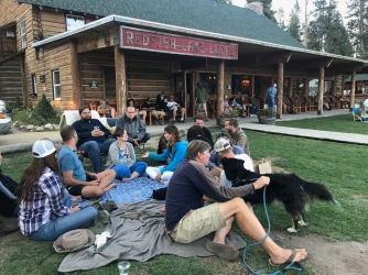 Free concert at Redfish Lake (photo: Jen Nealy)