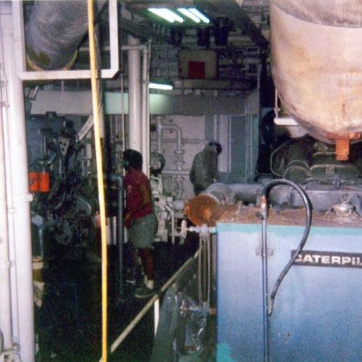 Tha Auro's engine room