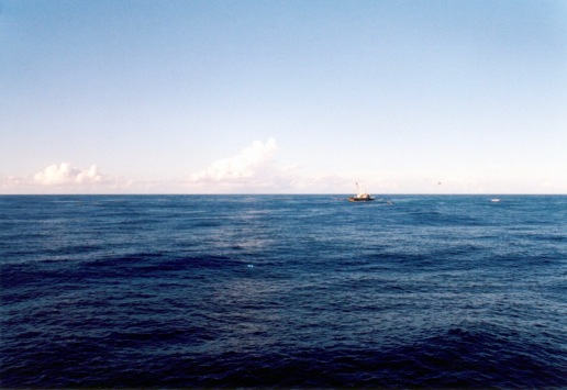 Another purse seiner fishing