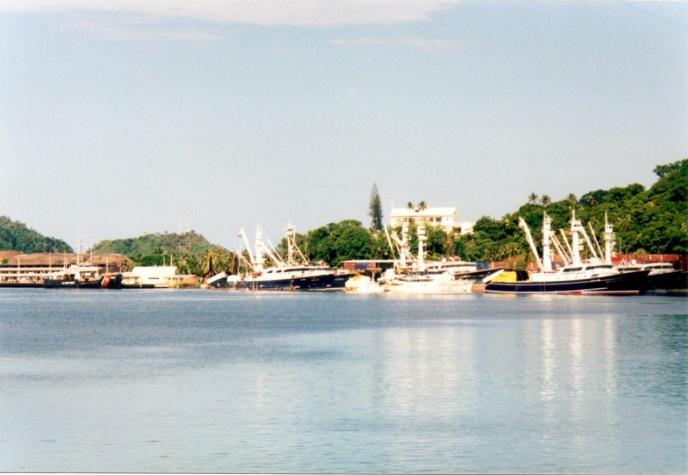 Fuel dock area of Pago Pago Harbor (American Samoa)