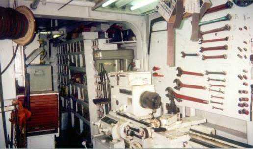 The Auro's machine shop