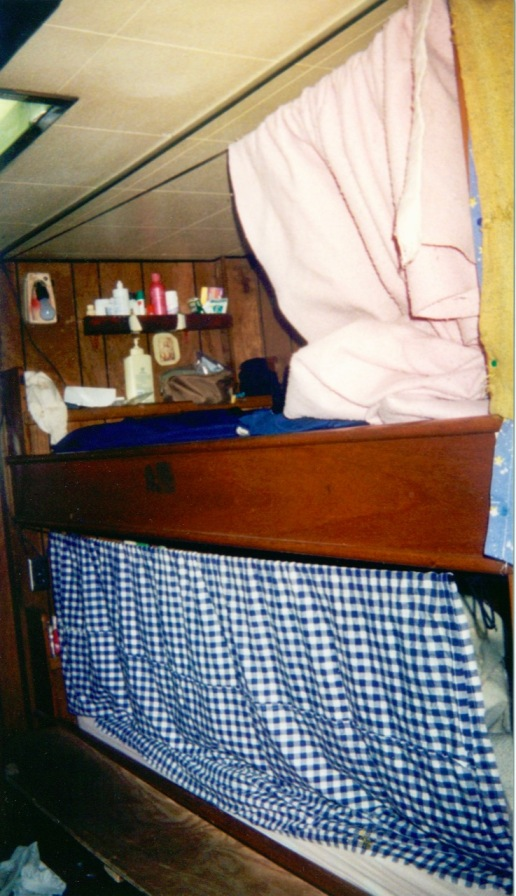 My bunk (top one)