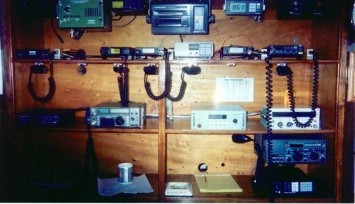 The Auro's radio communication gear